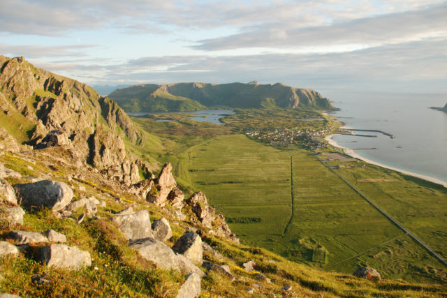 Radreise Norwegen: Bergwanderung Versterålen
