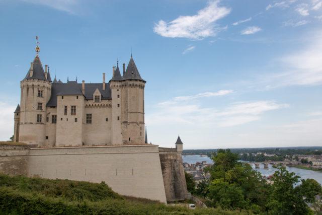 Radreise in Frankreich: Chateau-Samur-Loire