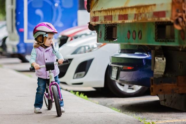 Radfahren mit Kind