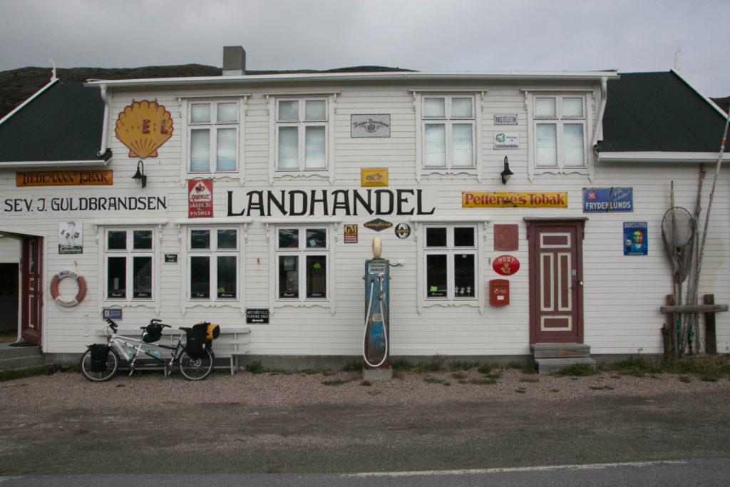 Landhandel, Radreise Norwegen