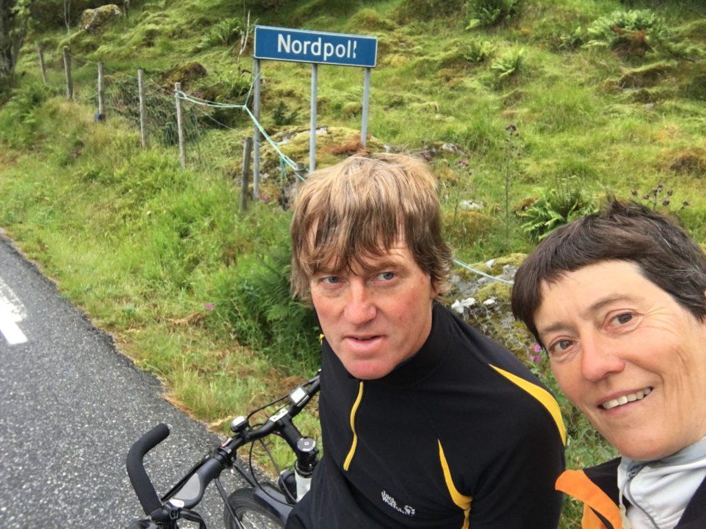 Nordpoll, Radreise Norwegen