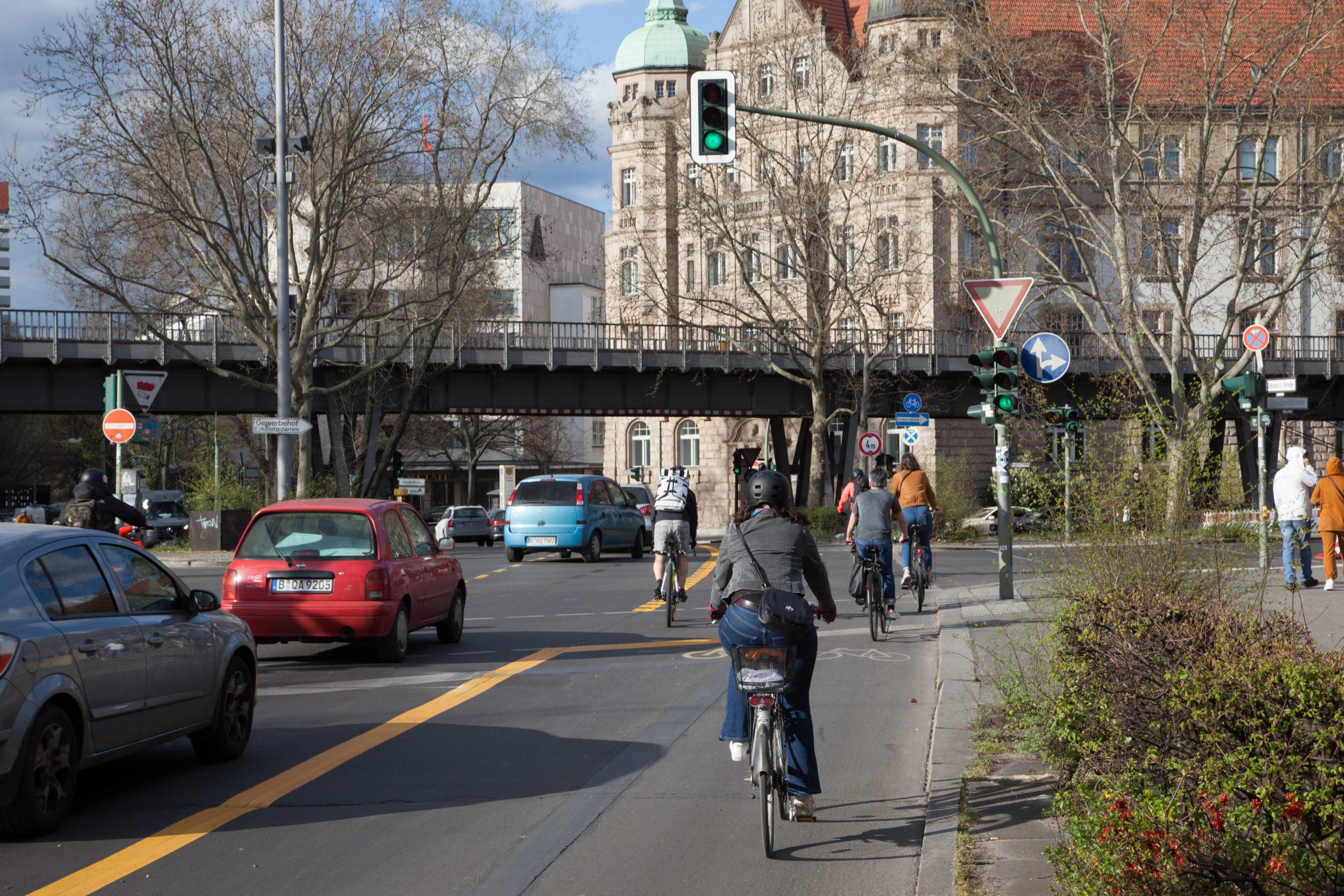 Corona Radweg Berlin