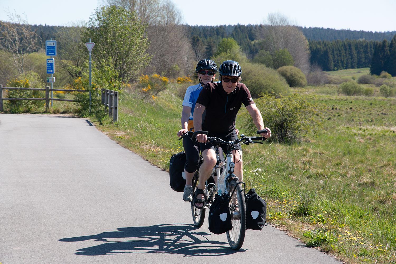 Bikefolks auf dem Vennbahn Radweg