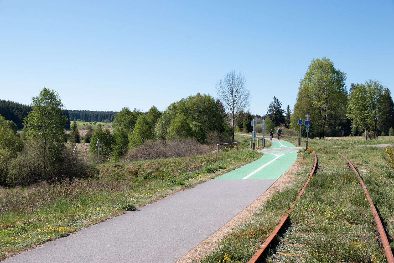 Vennbahn Radweg Belgien