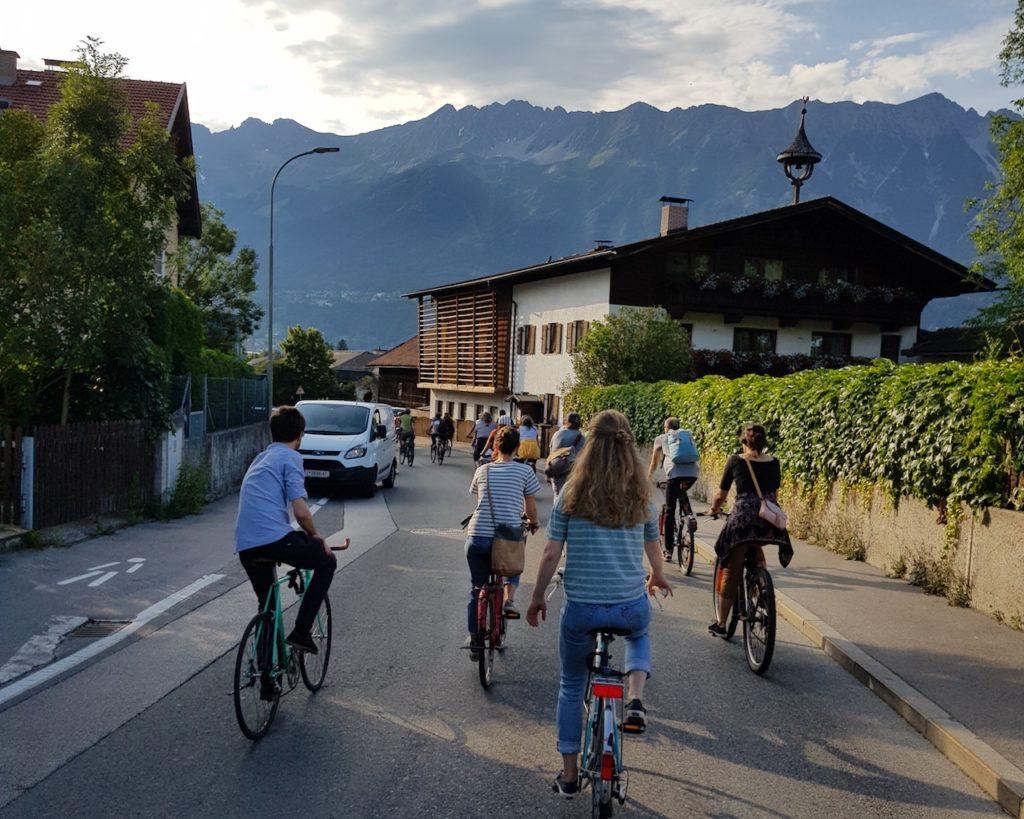 Critical Mass Innsbruck – Stadtrand