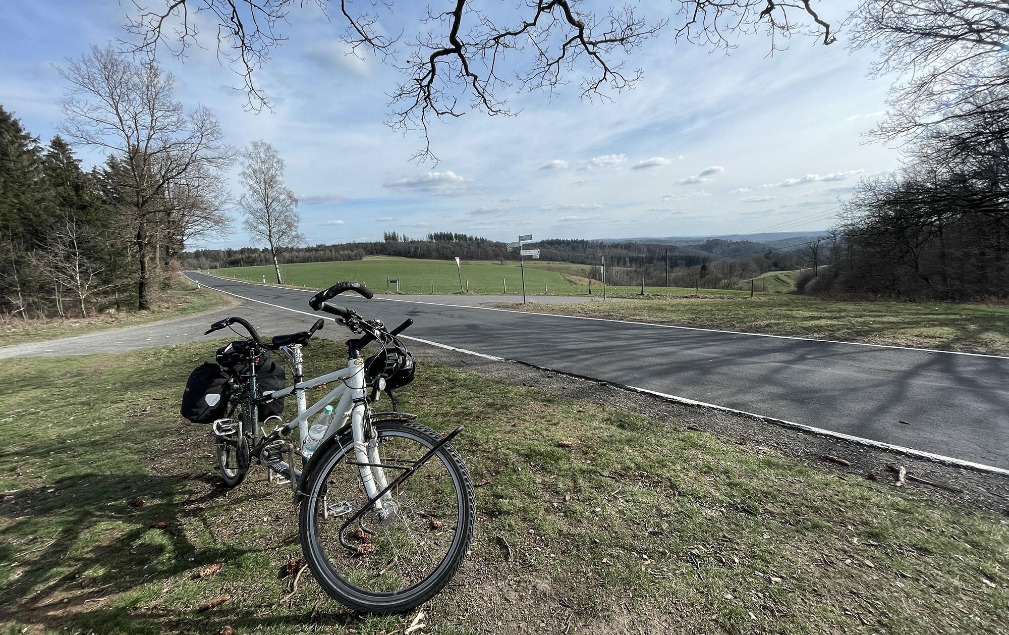 Radtour Westerwaldschleife