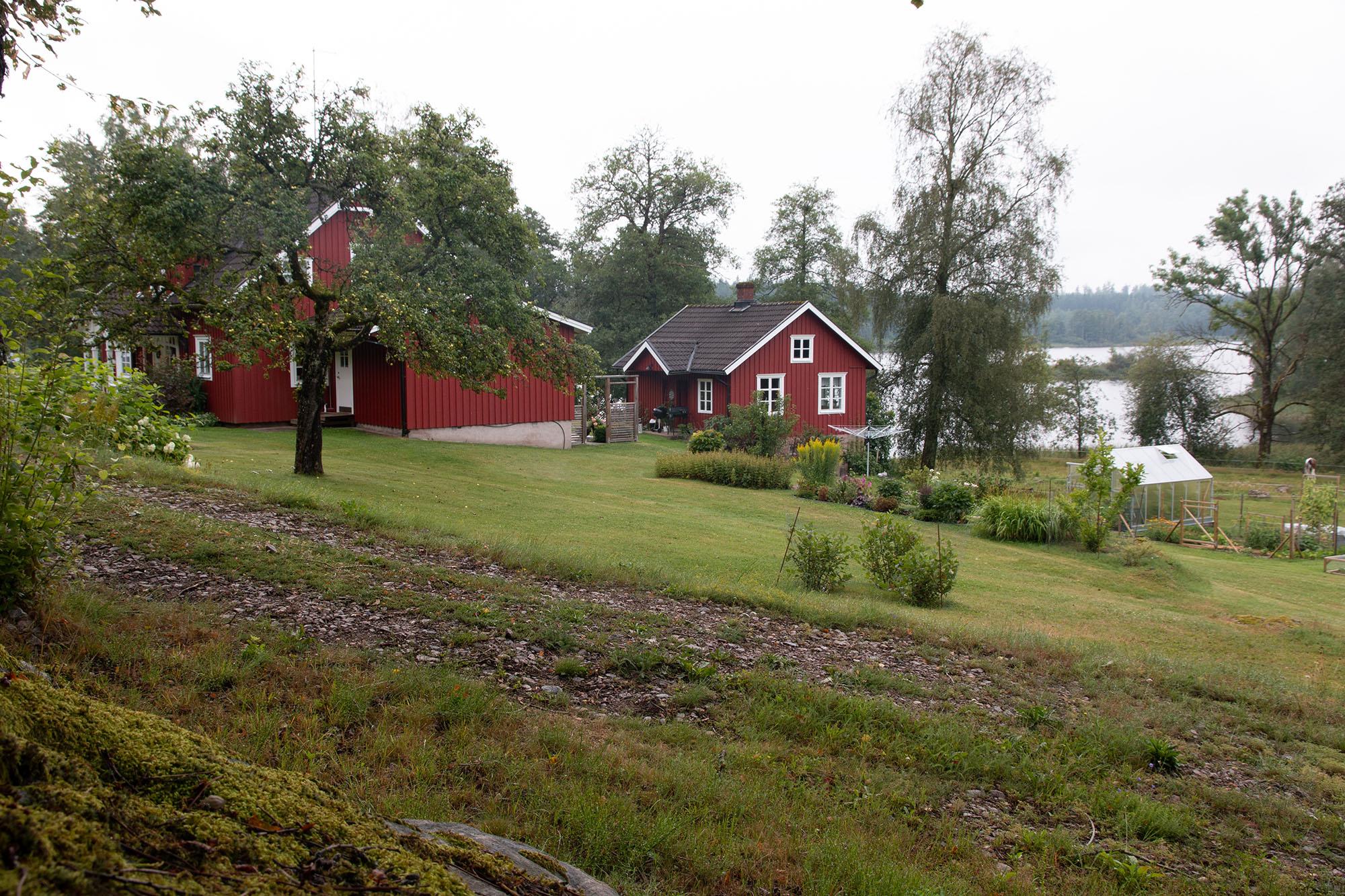 Typische Ausblicke bei der Radreise Schweden