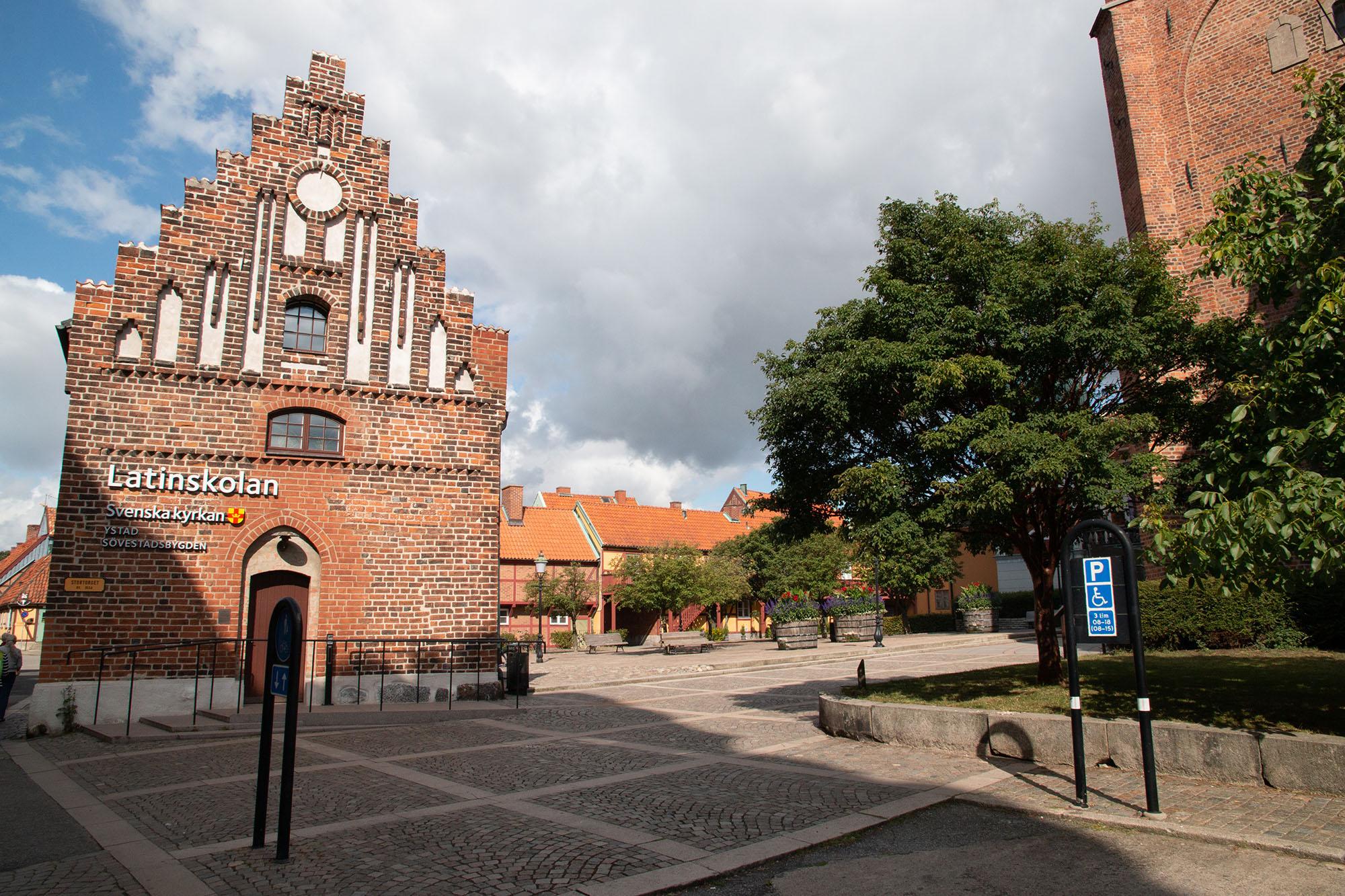 das Zentrum von Ystad